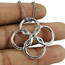Trendy 925 Sterling Silver Pendant Beautiful 925 Silver Jewellery
