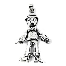 925 Sterling Silver Antique Jewellery Beautiful Silver Joker Pendant Großhändler