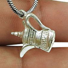 Good-Looking 925 Sterling Silver Chirag Pendant 925 Sterling Silver Antique Jewellery
