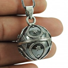 Scenic 925 Sterling Silver Ball Pendant Sterling Silver Jewellery