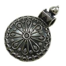 Bohemian Tibetan Style 925 Sterling Silver Pendant Wholesale Jewellery