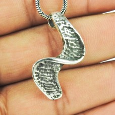 Stair Style 925 Sterling Silver Pendant Jewellery Wholesaler
