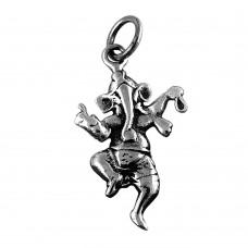 Handmade 925 Sterling Silver Ganesh Pendant