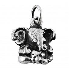 Fabulous! Handmade 925 Sterling Silver Ganesh Pendant Wholesale