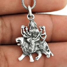 Classic Design ! 925 Sterling Silver Pendant