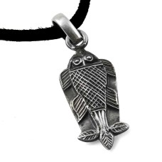 Fish Style ! 925 Sterling Silver Pendant