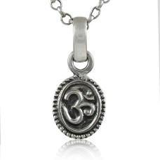 Draditions! 925 Sterling Silver OM Pendant