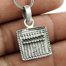 Lady Elegance! 925 Sterling Silver Pendant