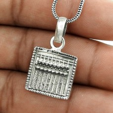 Passionate Modern Style 925 Sterling Silver Pendant