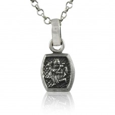 925 Pure Silver Hindu Religious Lord Hanuman Pendant