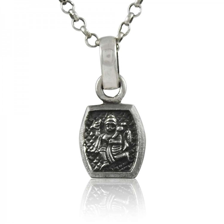 925 pure silver hindu religious lord hanuman pendant aloadofball Image collections