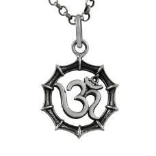A Secret ! Sterling Silver Jewellery OM Pendant