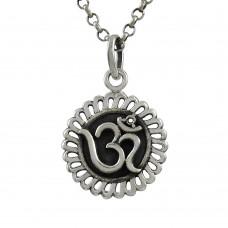 Fine ! Sterling Silver Jewellery OM Pendant Exporter