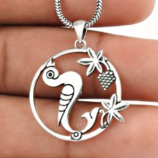 Graceful Handmade 925 Sterling Silver Bird Pendant Wholesale