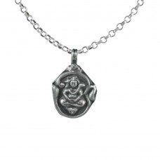 Special Moment 925 Sterling Silver Shiva Pendant Handmade Jewellery
