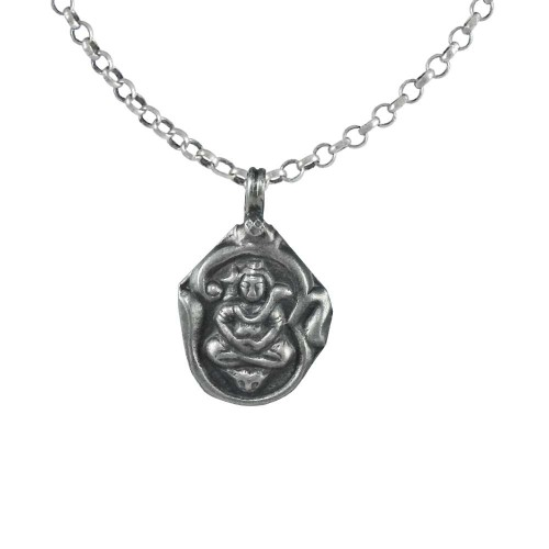 Big Secret 925 Sterling Silver Shiva Pendant Handmade Jewellery