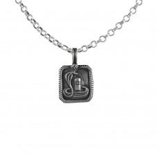 Pale Beauty 925 Sterling Silver Shivling Handmade Jewellery