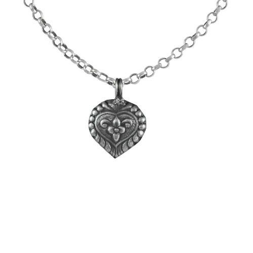 Oxidised 925 Sterling Silver Pendant Handmade Jewellery