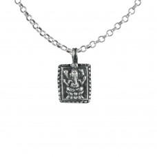 New Fashion 925 Sterling Silver Ganesha Pendant Handmade Jewellery Großhandel