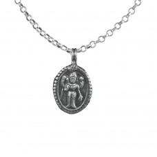 Oxidised 925 Sterling Silver God Handmade Pendant Jewellery