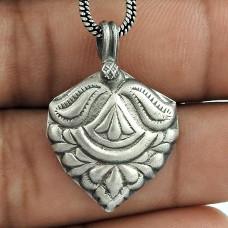 Amazing 925 Sterling Silver Pendant Handmade Jewellery