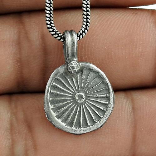 Unique Design Handmade 925 Sterling Silver Pendant