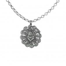 Beautiful Ganesha 925 Sterling Silver Pendant Handmade Jewellery Mayorista