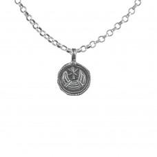 925 Sterling Silver Moon Pendant Handmade Jewellery