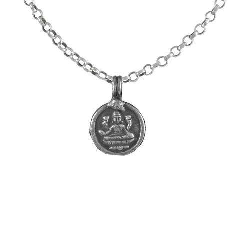 Oxidised 925 Sterling Silver Goddess Pendant Wholesale Silver Jewellery
