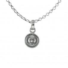 Sightly 925 Sterling Silver Sun Pendant Handmade Jewellery Lieferant