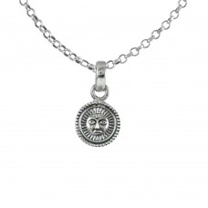 Big Dreamer 925 Sterling Silver Sun Pendant Handmade Jewellery
