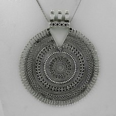 Latest Trend 925 Sterling Silver Pendant Traditional Jewelry