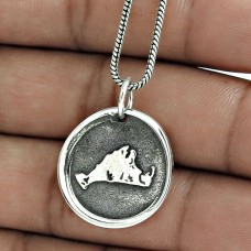 Stunning 925 Sterling Silver Pendant Jewelry