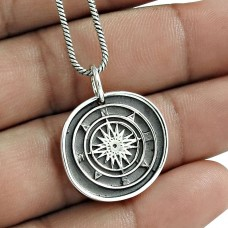Latest Trend 925 Sterling Silver Pendant Vintage Jewelry