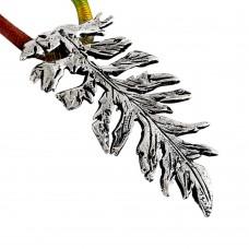 925 Sterling Silver Fashion Jewellery Trendy 925 Sterling Silver Leaf Pendant Großhändler