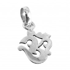 925 Sterling Silver Indian Fashion Jewellery Fashion 925 Sterling Silver OM Pendant Wholesale