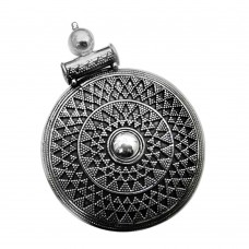 Oxidised Sterling Silver Antique Jewellery Designer 925 Sterling Silver Pendant Al por mayor