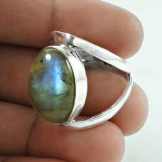 So In Love 925 Silver Labradorite Gemstone Ring