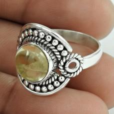 Spectacular Design! 925 Silver Citrine Ring Exporter India