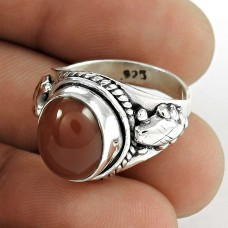 New Style Of!! 925 Sterling Silver Red Onyx Ring
