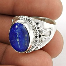 Draditions! 925 Silver Lapis Ring Wholesaling