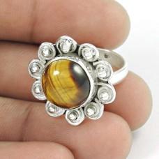 My Sweet! 925 Silver Tiger Eye Ring Hersteller