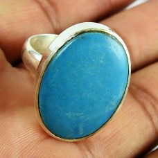Sterling Silver Jewellery Beautiful Turquoise Gemstone Ring