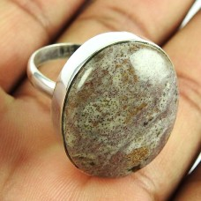 925 Sterling Silver Jewellery Fashion Agua Naveda Gemstone Ring