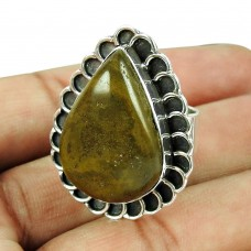 925 Silver Jewellery Traditional Jasper Gemstone Ring Lieferant