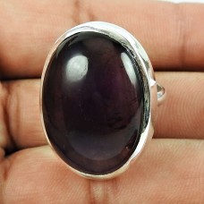 925 Sterling Silver Fashion Jewellery Trendy Amethyst Gemstone Ring Proveedor