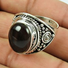 925 Silver Jewellery Beautiful Smoky Quartz Gemstone Ring Fabricant