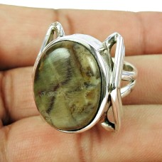 925 Sterling Silver Antique Jewellery Charming Imperial Jasper Gemstone Ring Manufacturer