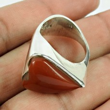 925 Sterling Silver Vintage Jewellery Fashion Red Jasper Gemstone Ring Proveedor