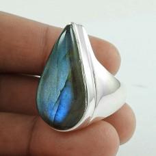 Passionate Love 925 Silver Labradorite Gemstone Ring